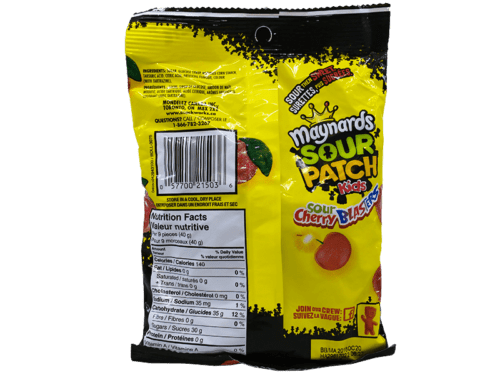 Maynards Sour Patch Kids Sour Cherry Blasters Stockupmarket
