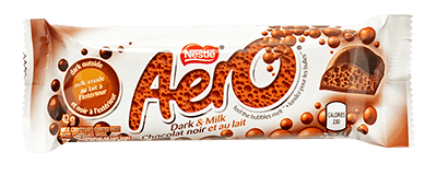 Nestle Aero - Canadian Chocolate Bar